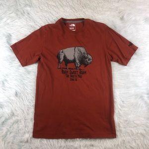 The North Face Buffalo T Shirt Men's Small Orange
